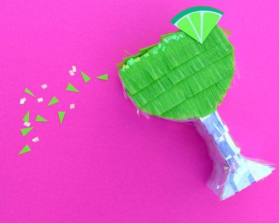 Birthday Bash  C B Mini Pinata Margarita