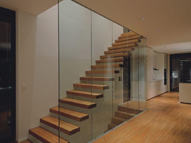 Beliebt Bildergebnis für treppe glaswand | haus | Treppe, Glaswand und Haus IB32
