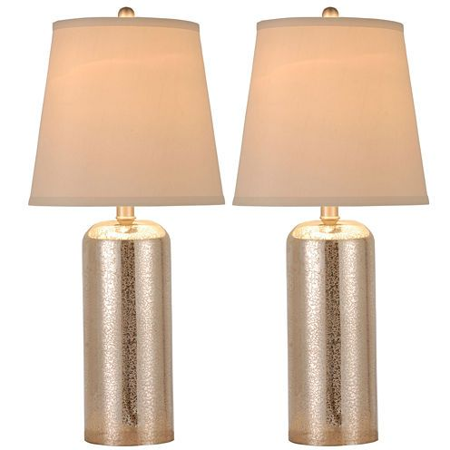 Buy JCPenney Home™ Set Of 2 Mercury Glass Table Lamps Today At Jcpenney.com