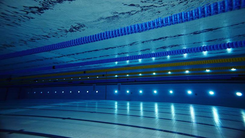 olympic swimming pool underwater sky hd wallpaper