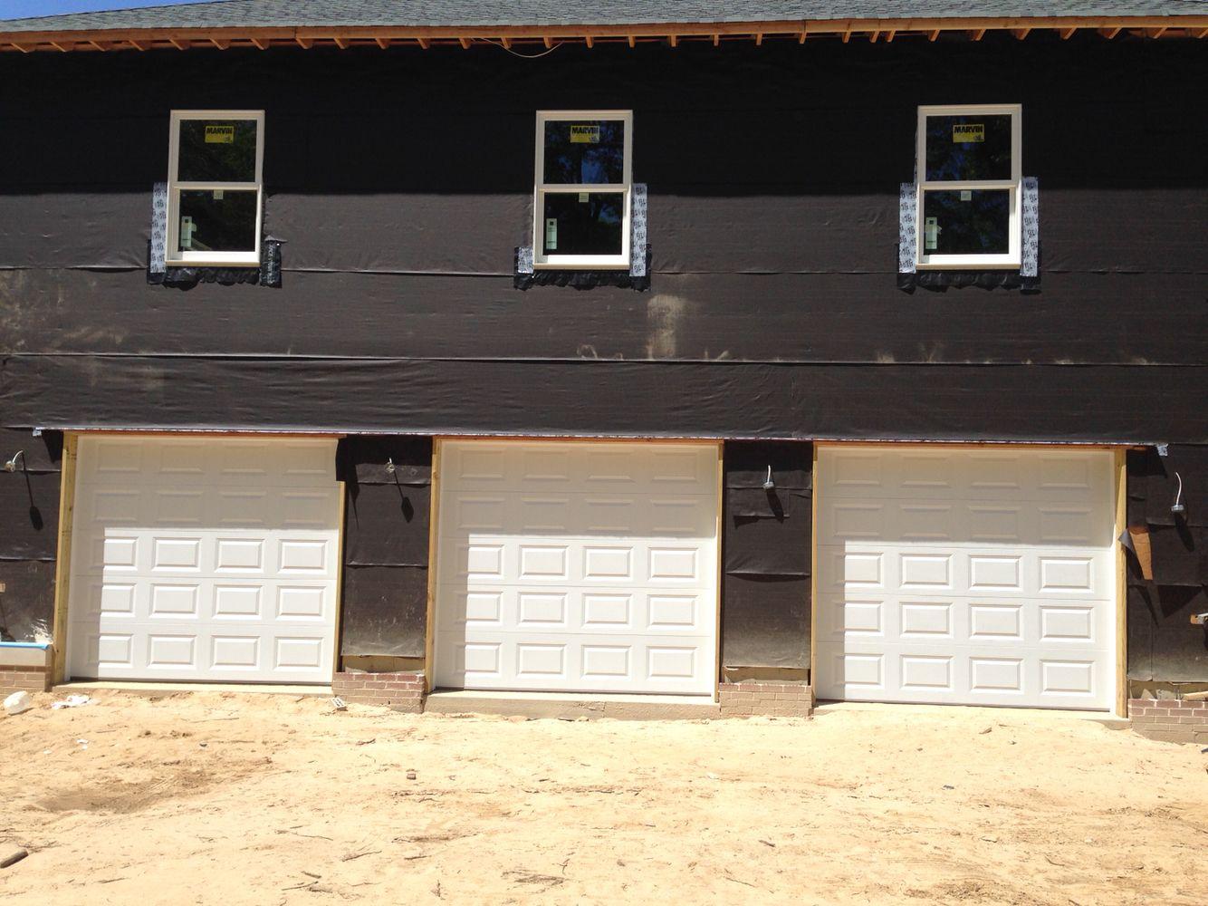 Chi Raised Panel 8x8 Garage Door Installation Garage