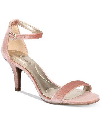 5760cbfdc7ba28 Bandolino Madia Velvet Dress Sandals