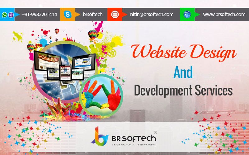 BR Softech as a # Mobile website # design and