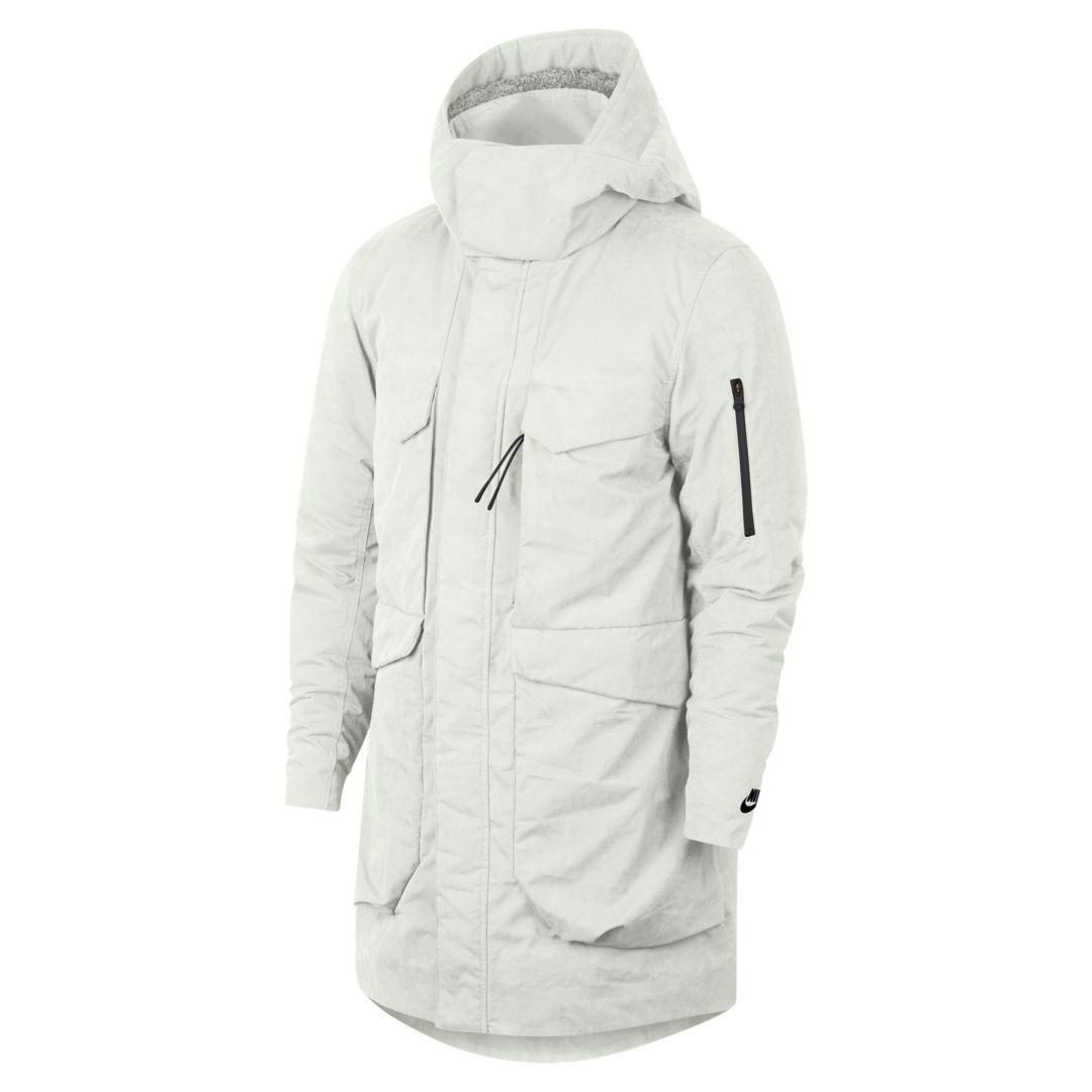 fd02c9138 Nike Sportswear Tech Pack Down Fill Men's Parka Size 2XL (Summit White)