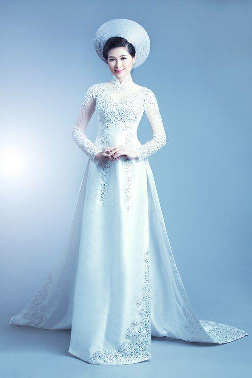 áo dài#vietnamese traditional wedding dress# | Wedding | Pinterest ...