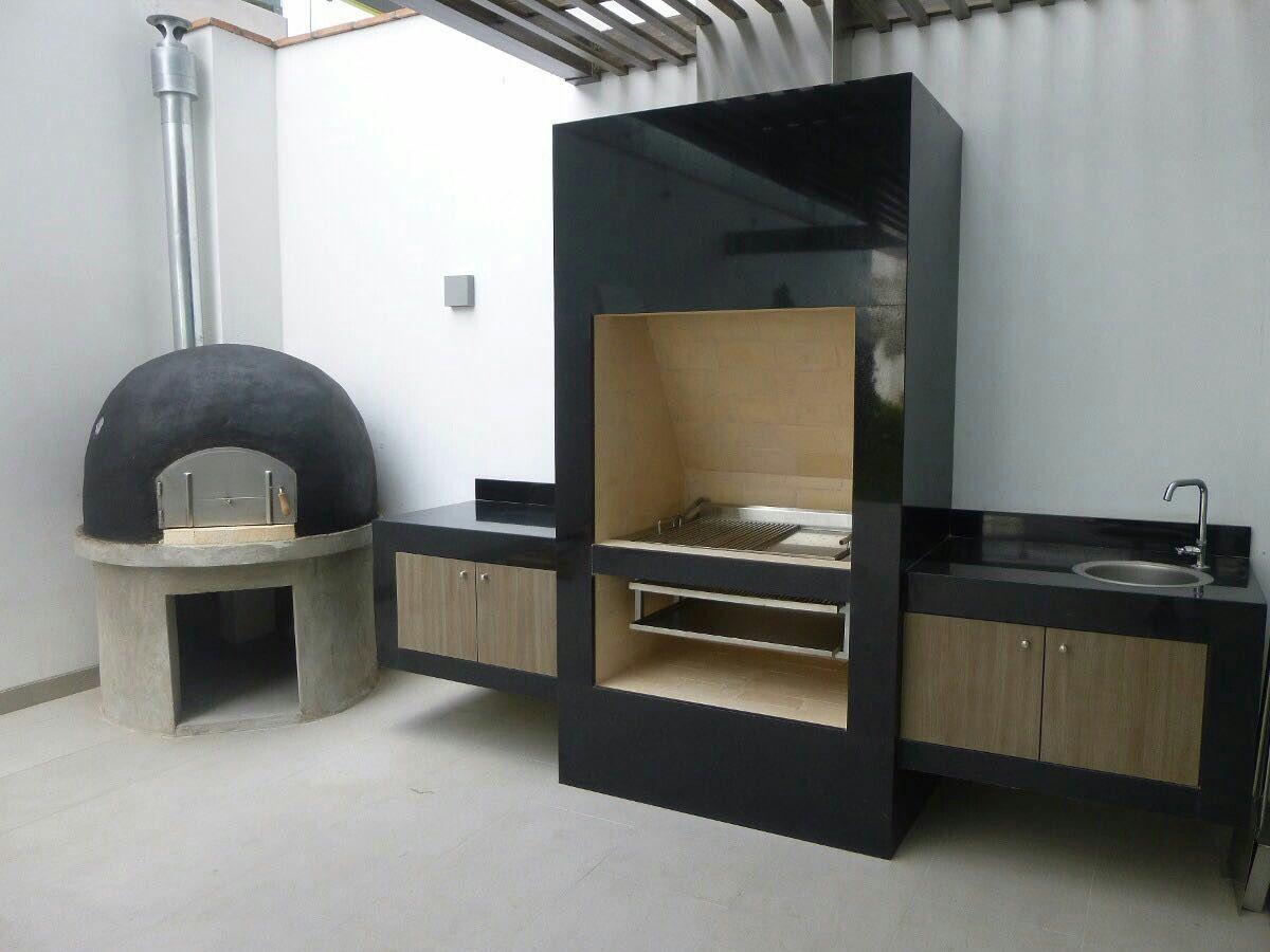 Pin de c sar ramirez en asadores pinterest asador for Asadores modernos para patio