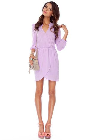 0e15dbcad47b Lavender casual dress, so great for many occasions! $37.00 LOVE THIS ...