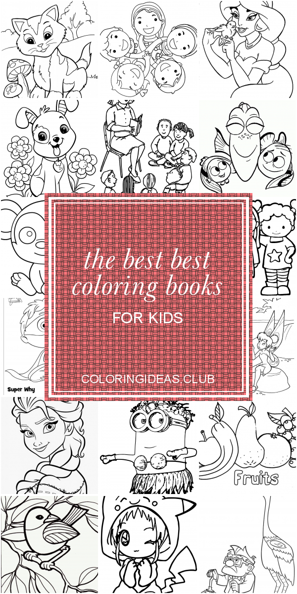 The Best Best Coloring Books For Kids Coloring Pages For Kids Preschool Coloring Pages Coloring Books