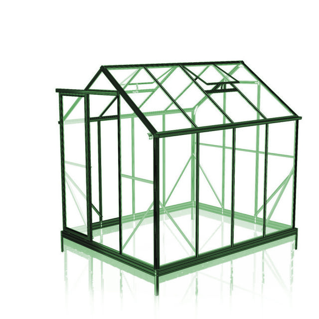 Greenhouses with 6mm Twinwall Polycarbonate made by Winter
