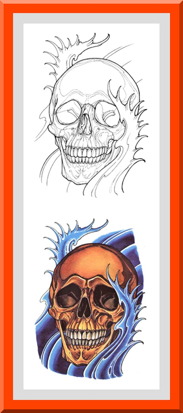 Printable Skull Coloring Pages 30 High definition coloring ...