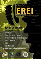 5° Encuentro Regional de Estudiantes de Ingeniería (V EREI) #SanJuan #UNSJ   Más información: http://www.unsj.edu.ar/eventoDetalle.php?n=379&p=1