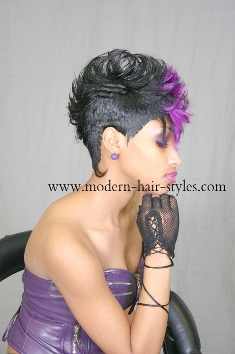 Mohawk With Weave 27 Piece : mohawk, weave, piece, Hairstyles