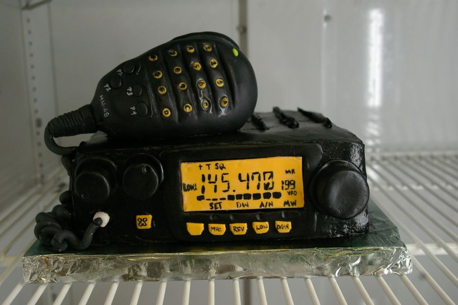 Ham Radio On Cake Central Bolos Pinterest Ham Radio Hams And