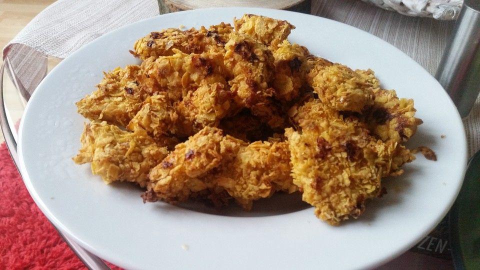 Leichte Sommerküche Chefkoch : Knusprig leichte chicken nuggets chicken nuggets