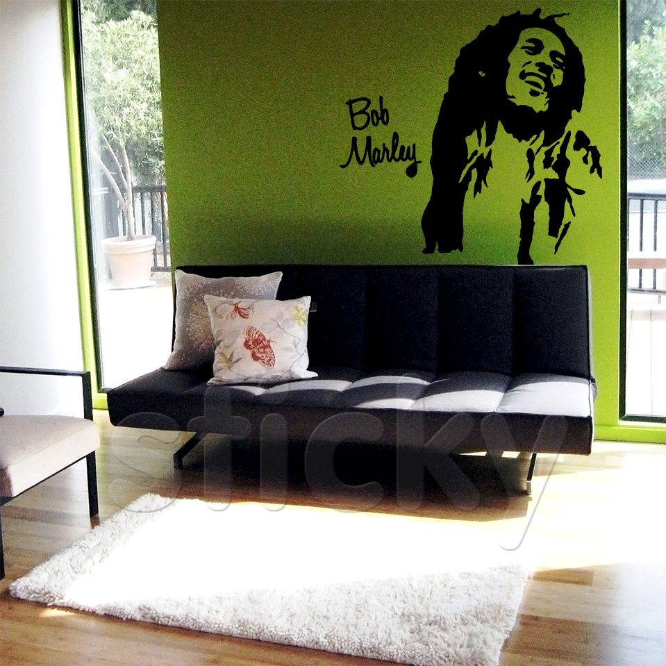 Wall Sticker BOB MARLEY By Sticky!!!