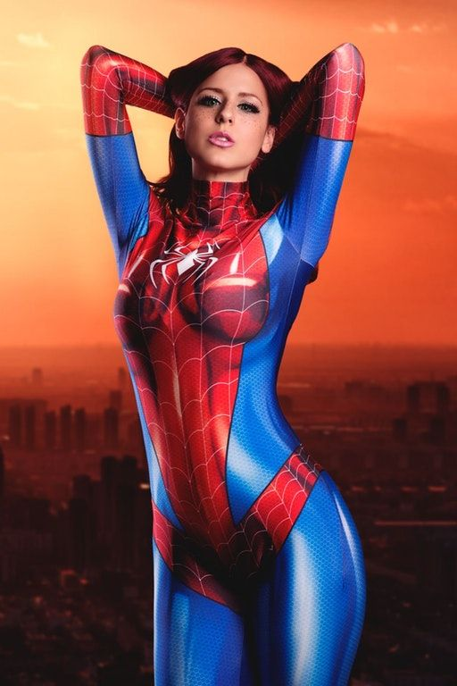 Mary Jane in a Spider-Man costume | MJ : cosplaygirls # ...