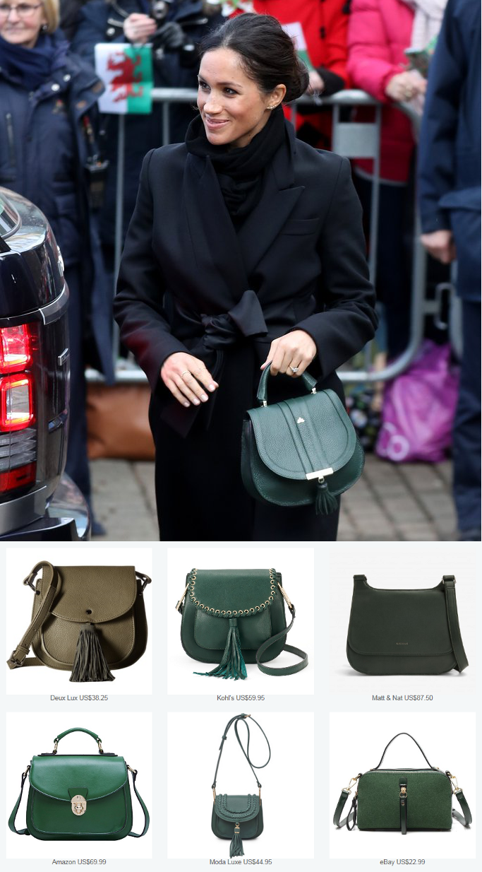 Click To Shop Style Steals Of Meghan Markles Demellier London The
