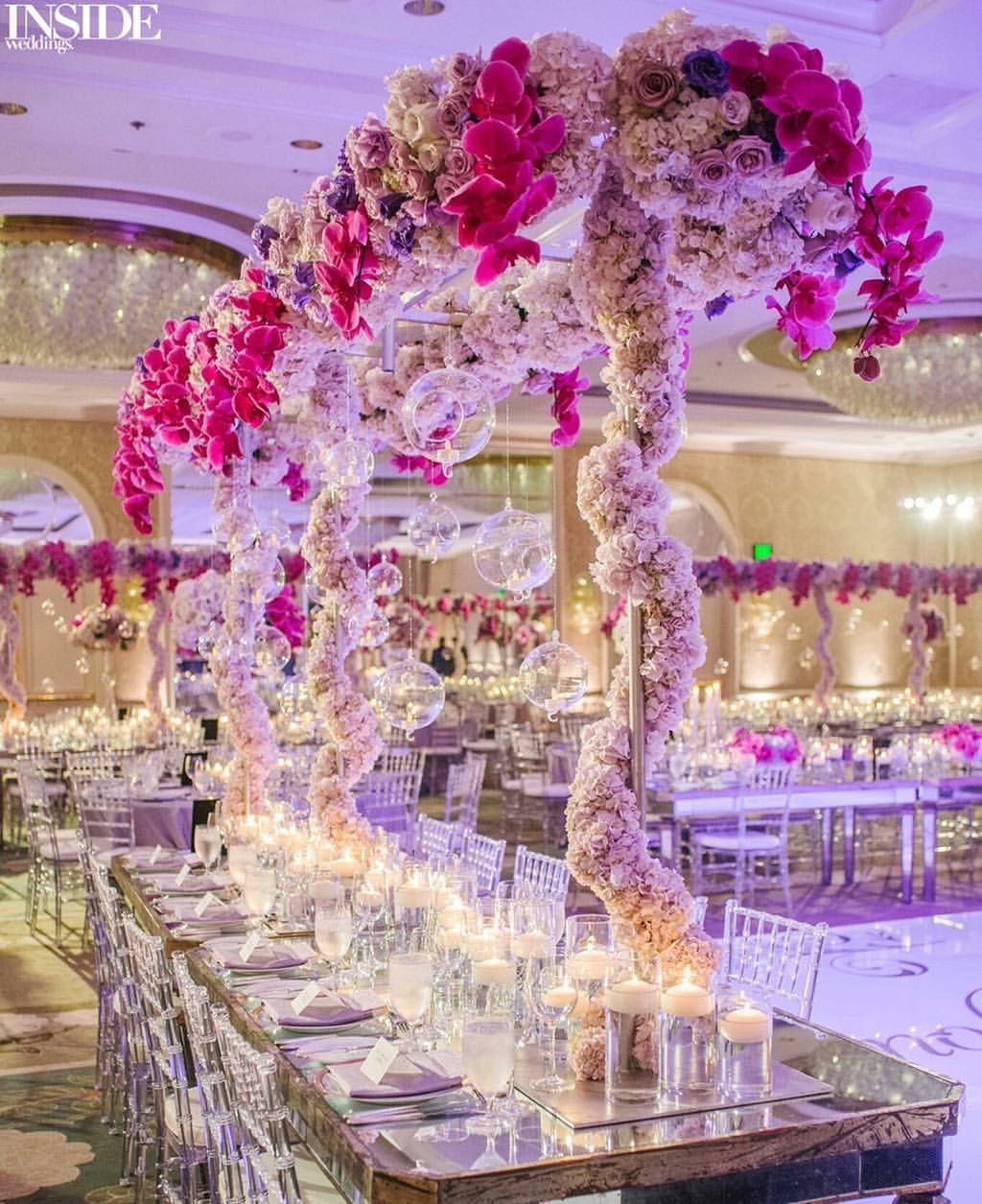 Mirror wedding | Once Upon A Wedding... | Pinterest | Centerpieces ...