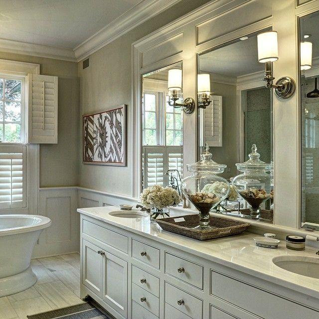 East Hampton A Beautiful Bathroom In A New Home Tom Samet Bathroom Pinterest Rustic