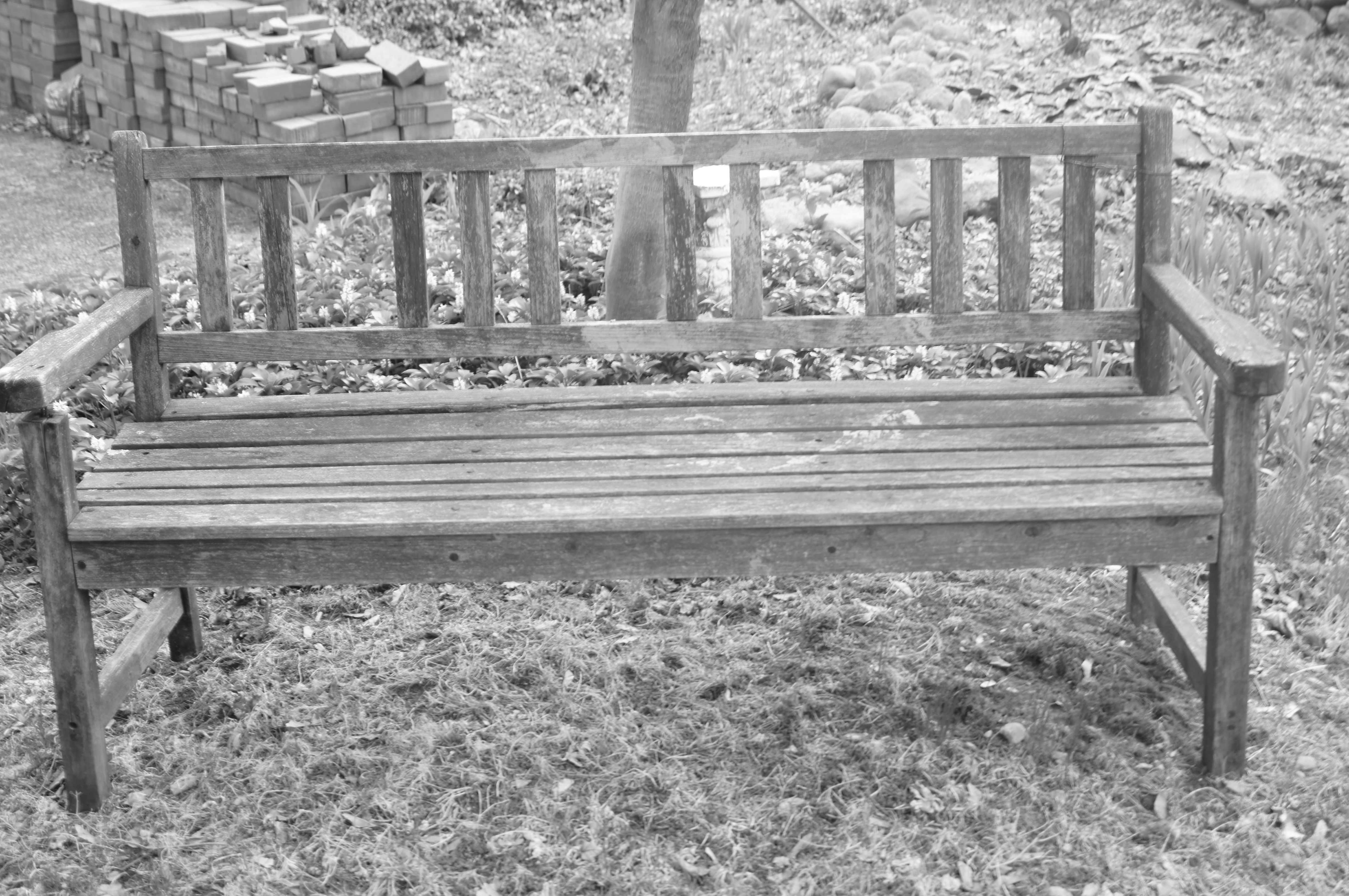 Stupendous Primitive Garden Bench My Style Garden Landscaping Gmtry Best Dining Table And Chair Ideas Images Gmtryco