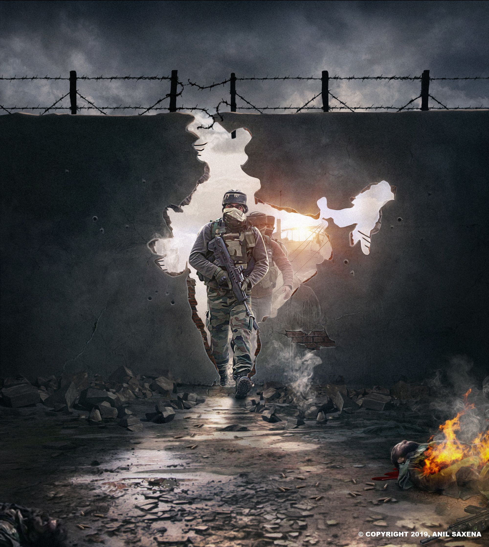 Behance 为您呈现 (With images) Indian army wallpapers