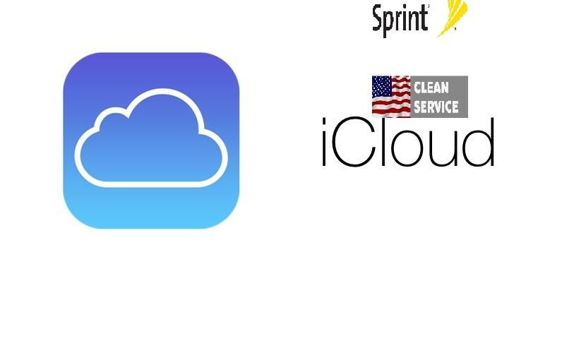 Icloud Removing Service with IMEI Clean Only (USA Sprint 90