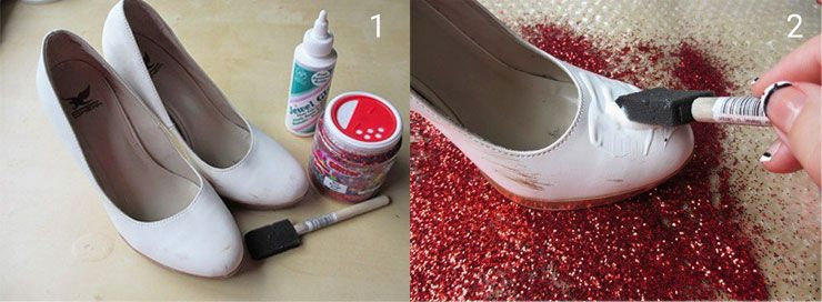 Diy shoe decorating ideas diy do it yourself pinterest diy shoe decorating ideas solutioingenieria Gallery