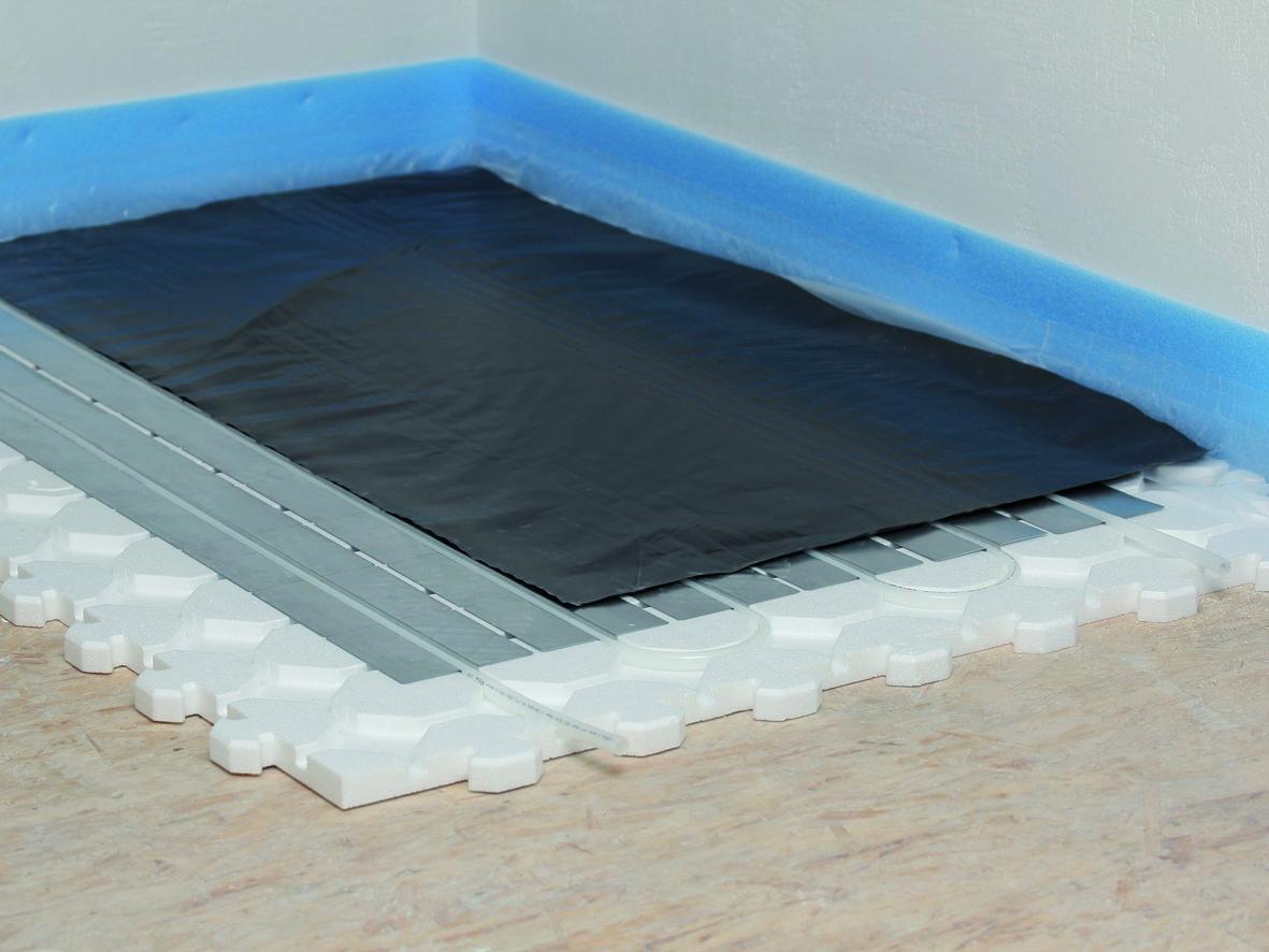 f r heimwerker und selberbauer ist das fu bodenheizung trockenestrich system besonder. Black Bedroom Furniture Sets. Home Design Ideas