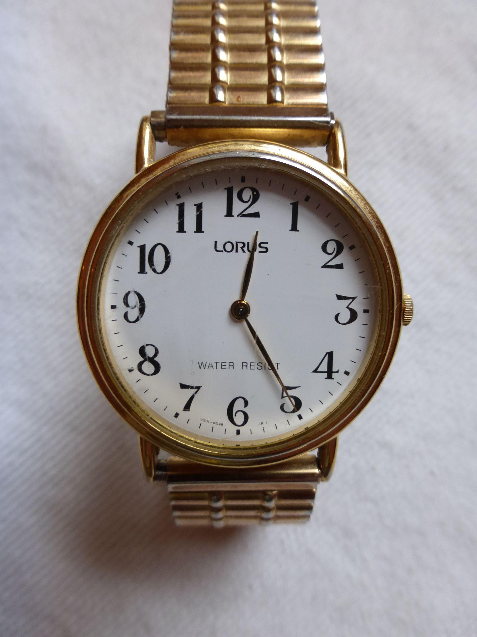 Lorus by Seiko retro quartz watch | Vintage watches, Retro ...