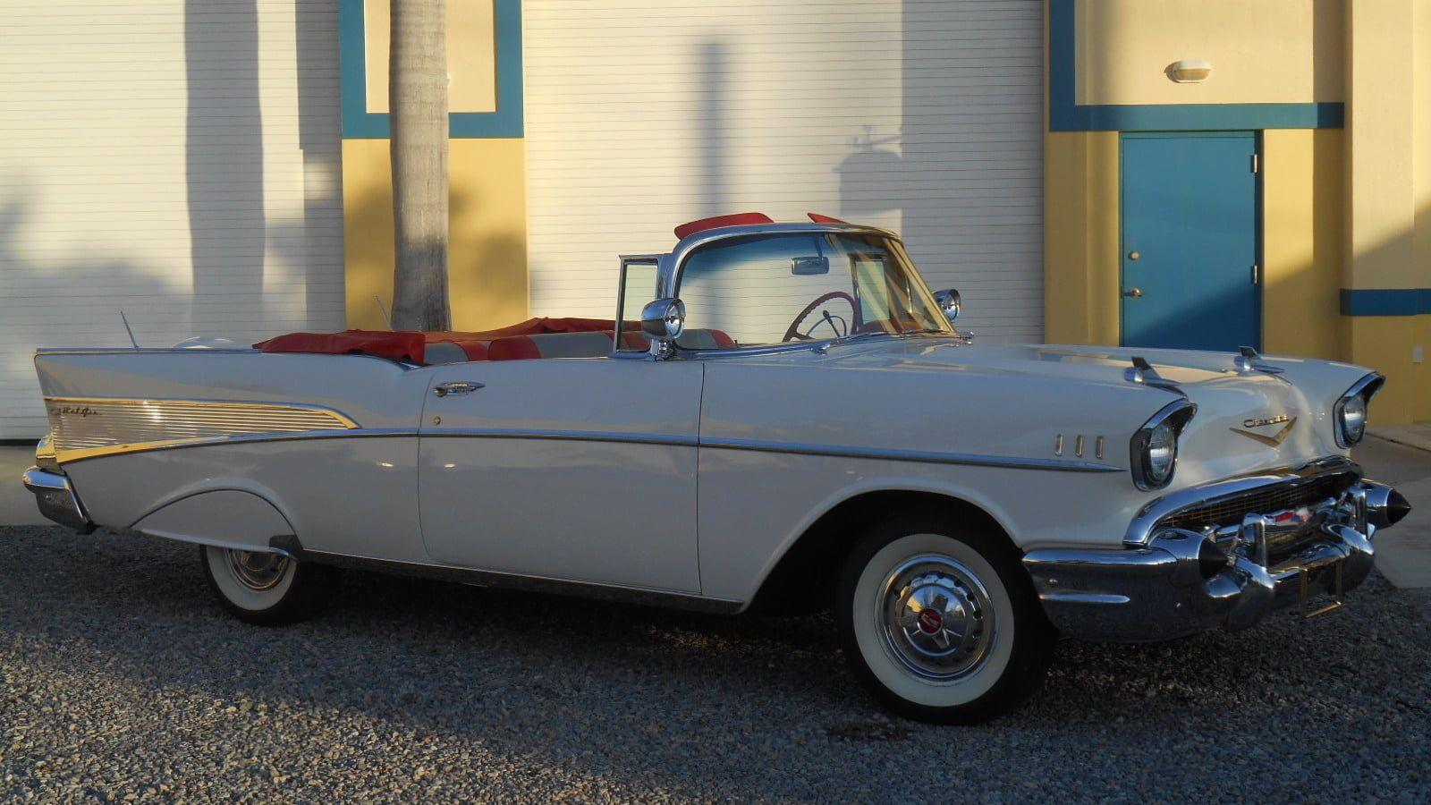 1957 Chevrolet Bel Air Convertible Presented As Lot S160 1 At Las