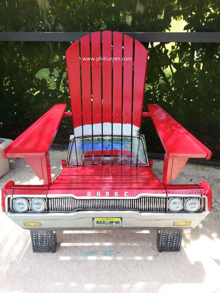 Custom Automotive Car Chairs Drive Gearheads To Sit Back ...
