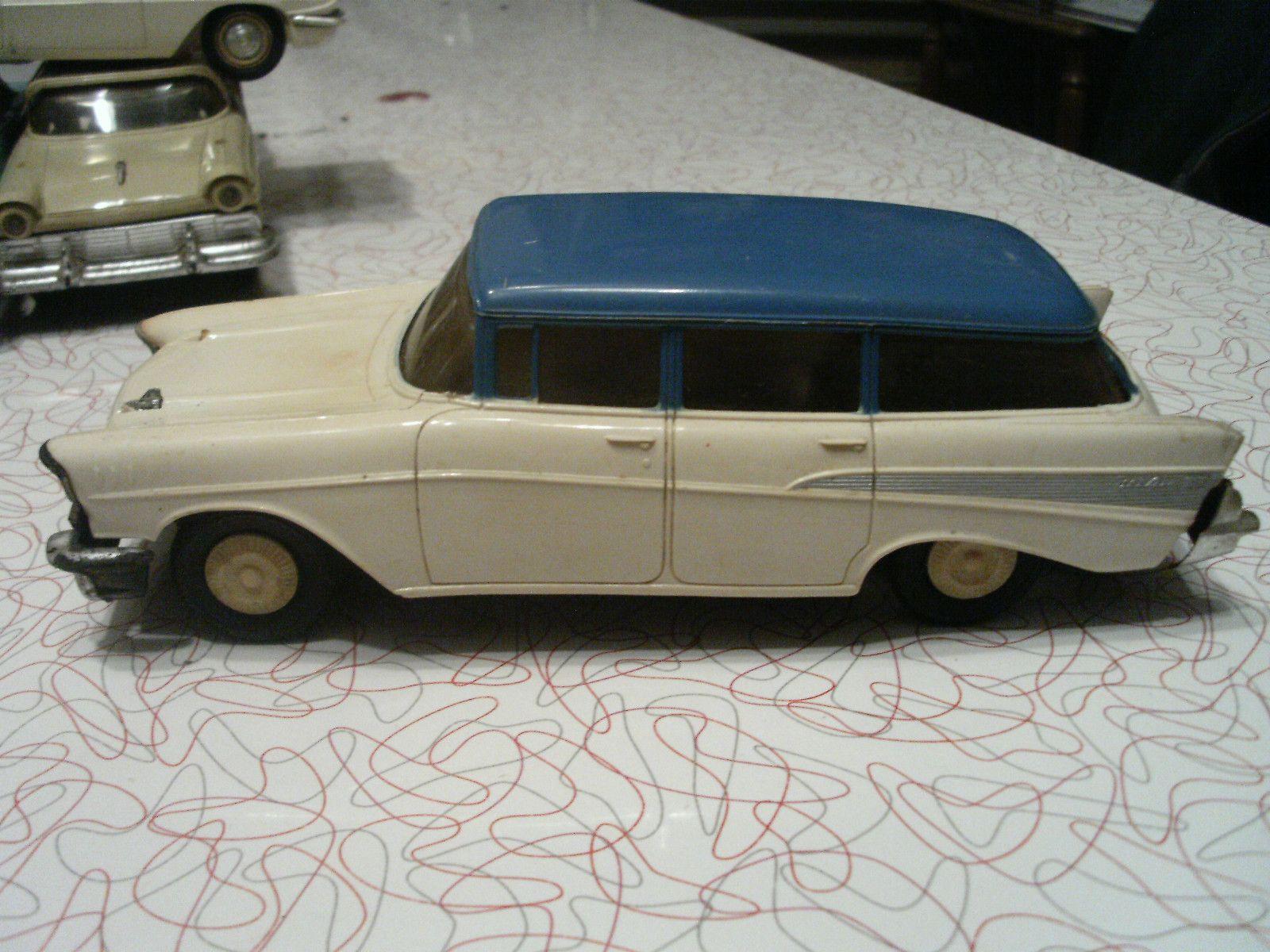 1957 Chevy Bel Air 4 Door Wagon Promo Model Arabalar