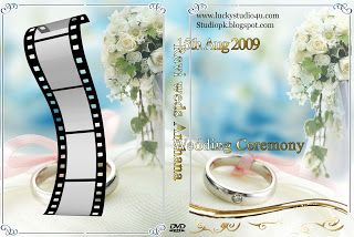 Desain Cover Dvd Wedding 5