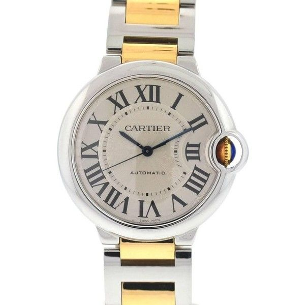 Preowned Cartier 3284 Twotone Ballon Bleu Stainless Steel 18k Rose