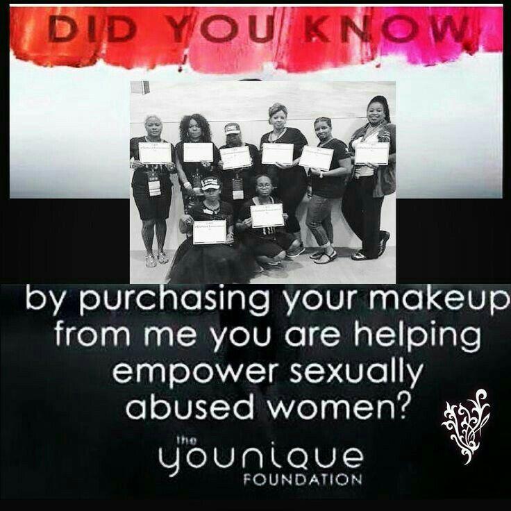 The Younique Foundation www.thedivadonna.com