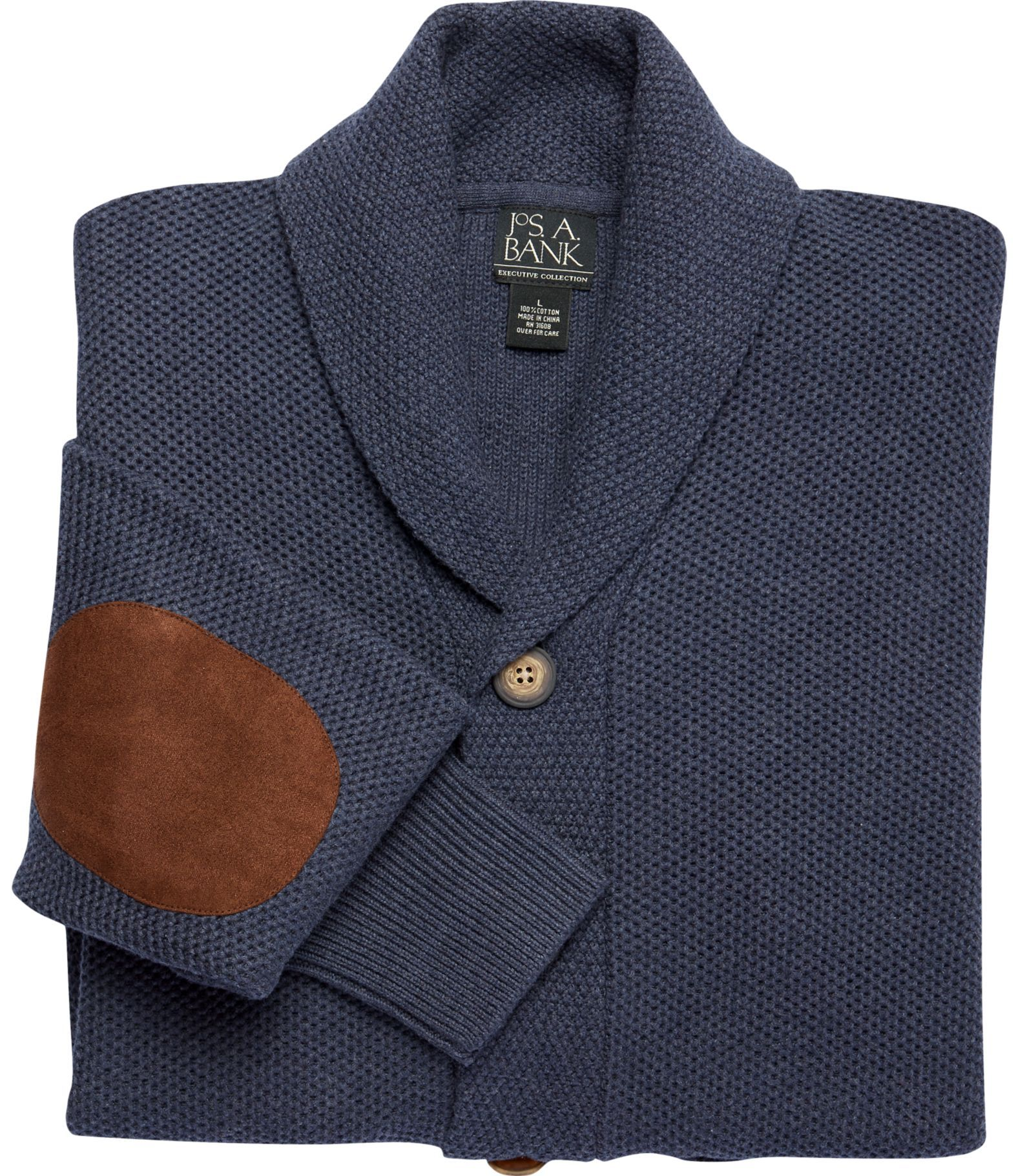 Executive Collection Cotton Cardigan Sweater