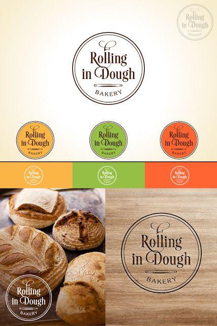 """Айлин Хакова Графичен Дизайн: Лого дизайн за пекарна """"Rolling in Dough"""" - Design..."""