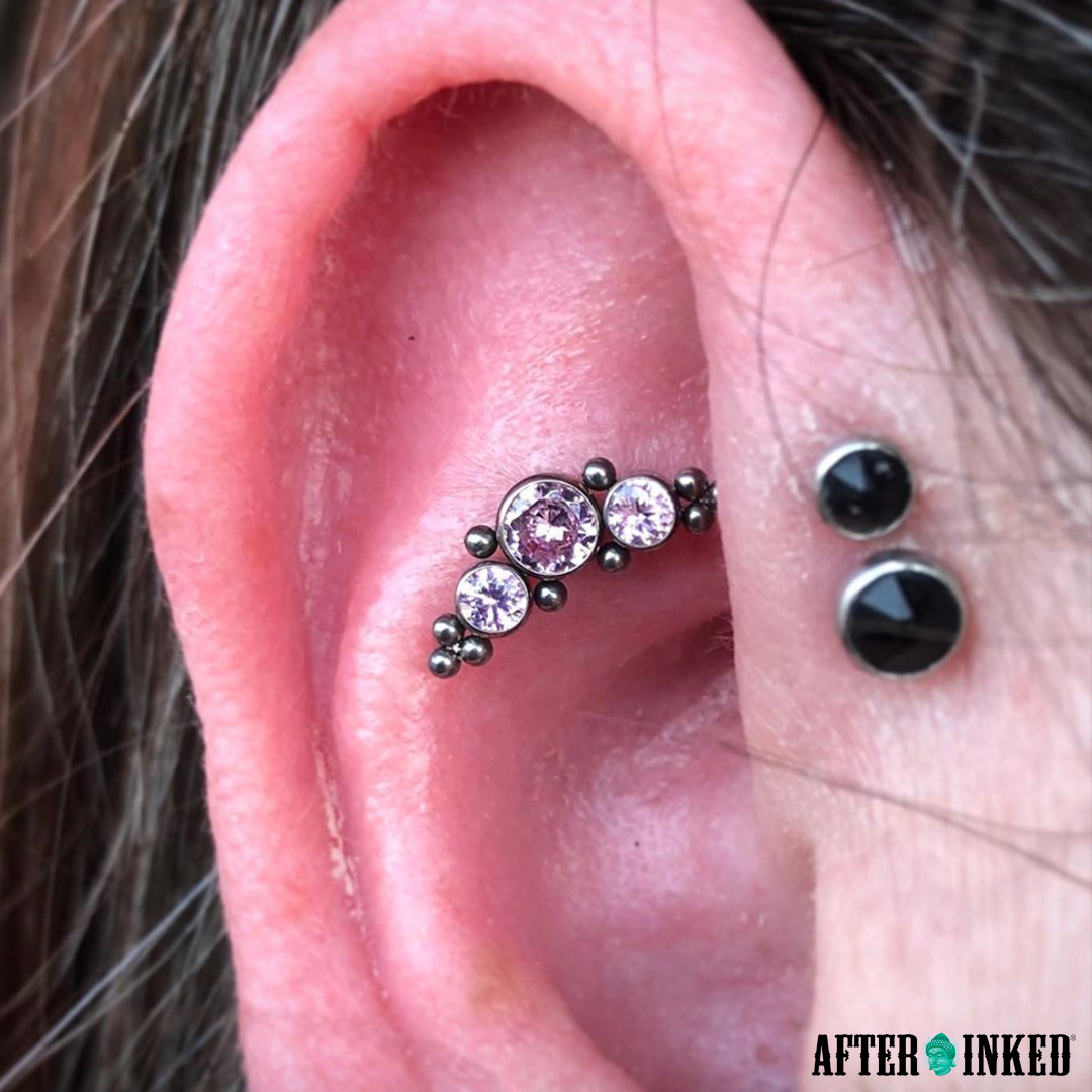 Jewelry always fits, show us your piercings #TransformationTuesday #piercings #piercingaftercare #afterinked #proudusers #formulatedforperfection #afterinkedeveryday #tattooaftercare #piercingaftercare #inkseal #npj #vegan #bodypiercing #fashion #jewelry #piercings #girlswithpiercings #menswithtattoos #tattoo #quality #fancy #bodymodification #bodymods #pierced #bodyjewelry
