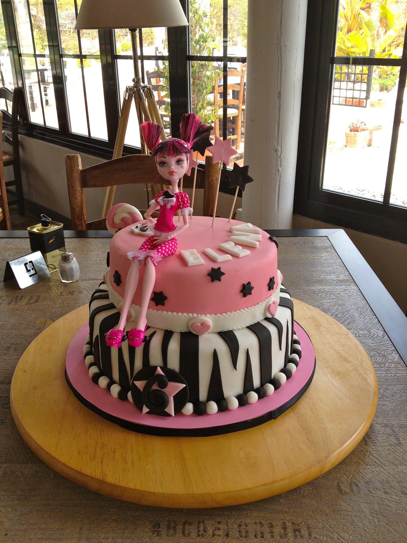 Fantastic Draculaura Cake Cake Draculaura Cake Cake Decorating Funny Birthday Cards Online Hendilapandamsfinfo