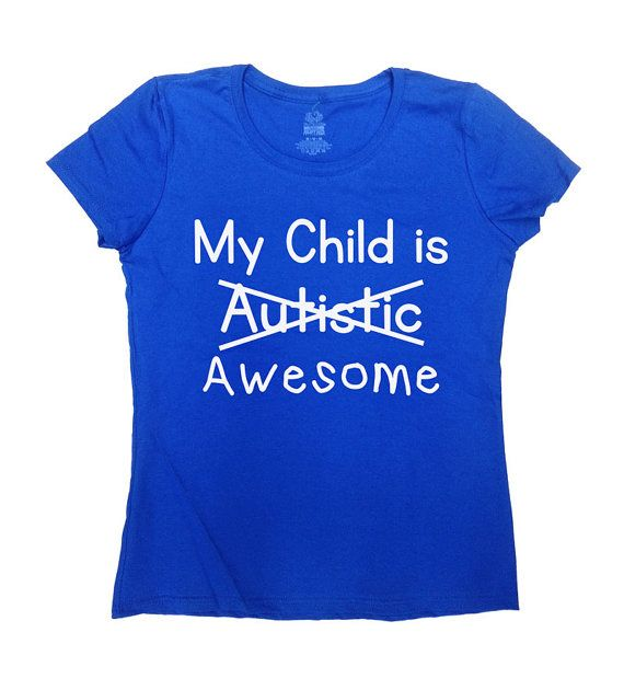 Autism Mom/Dad Shirt - Great Autism Awareness Shirt For Mom or Dad!  Love this design? Check out some other Autism Awareness Shirts: