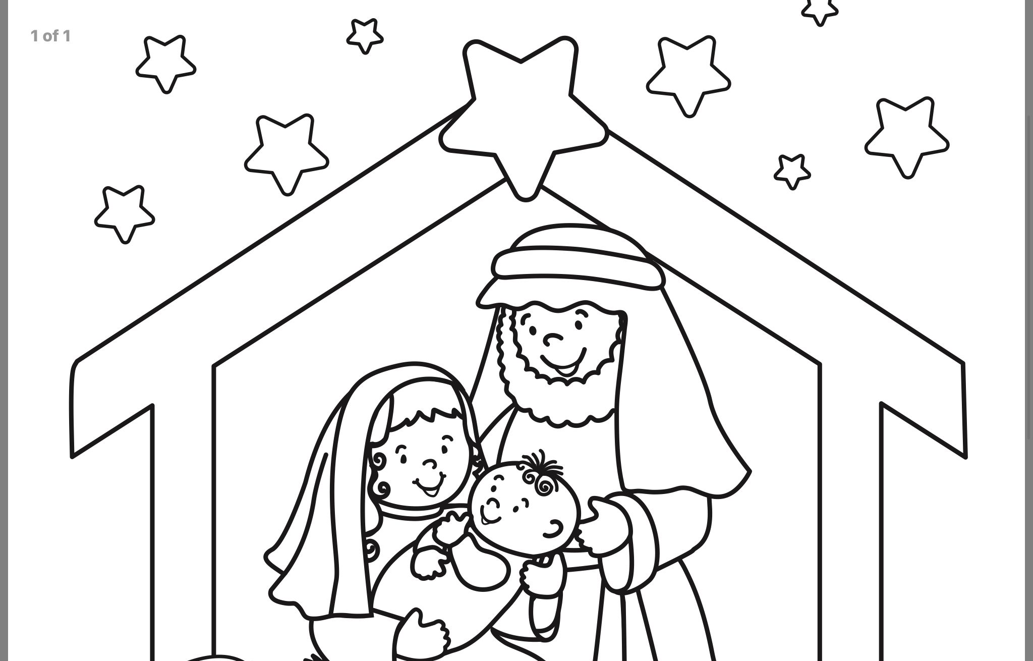 pindebbie swiger on crafts  nativity coloring