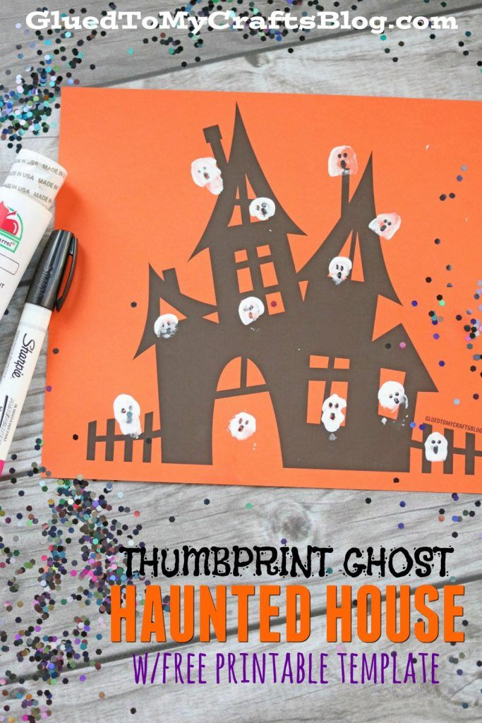 19++ Haunted house craft for toddlers ideas in 2021