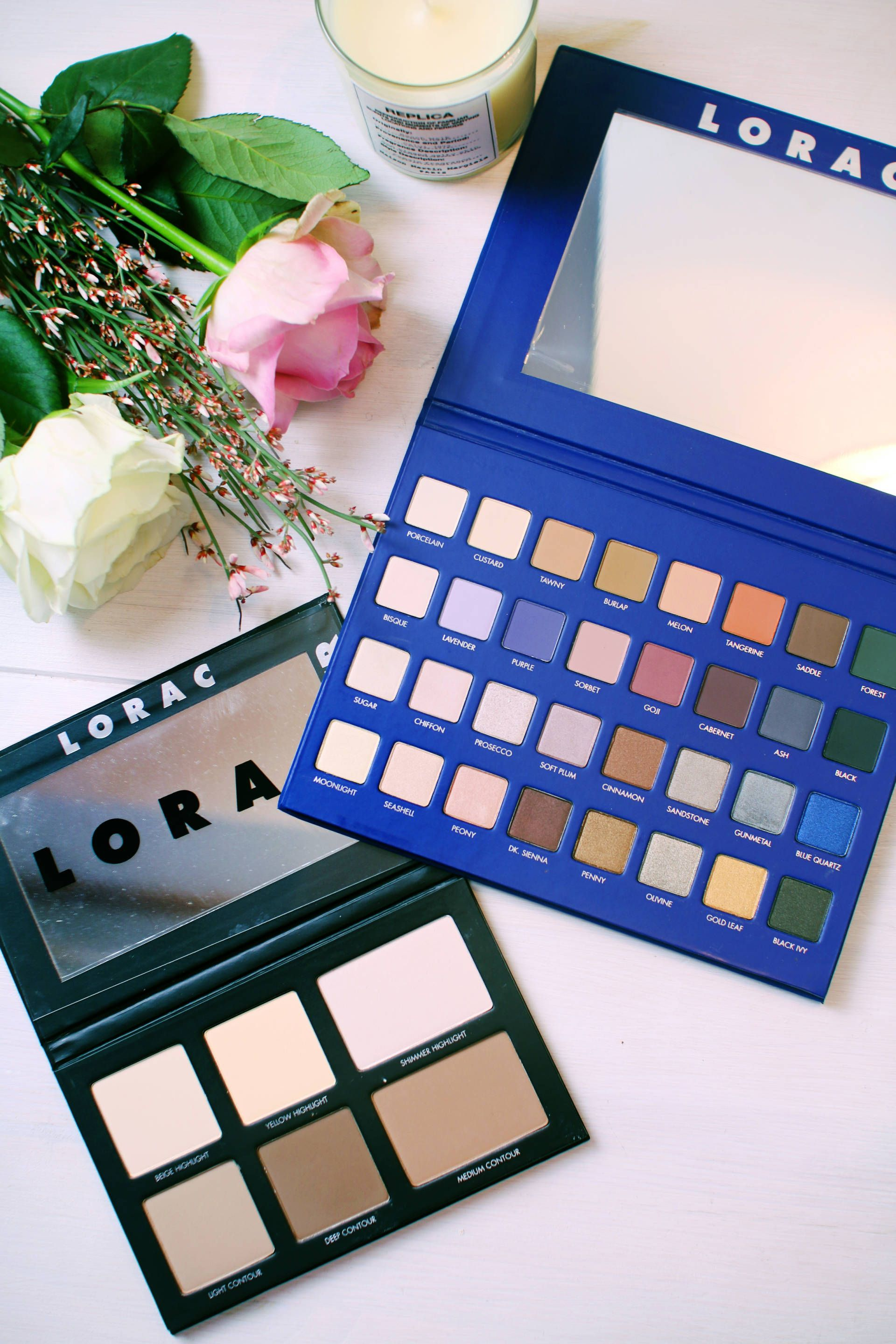Lorac has changed the make up game! Head over to www.inthefrow.com to see my review of these amazing palettes