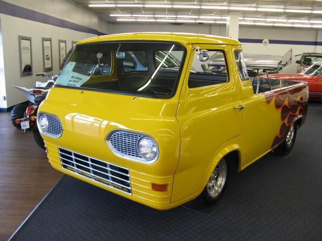 Ford Econoline Pickups Custom 1962 Ford Econoline Pickup Hot Rod