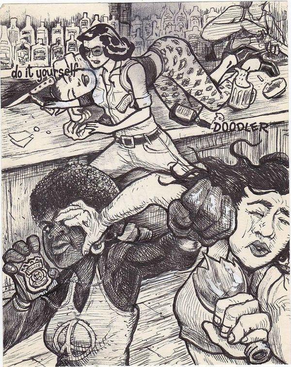 Dirty diy pin up girls re imagined as fantastical heroines image credit david jablow solutioingenieria Gallery