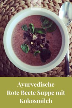 Photo of Ayurvedische Rote Beete Suppe mit Kokosmilch – Yogiveda