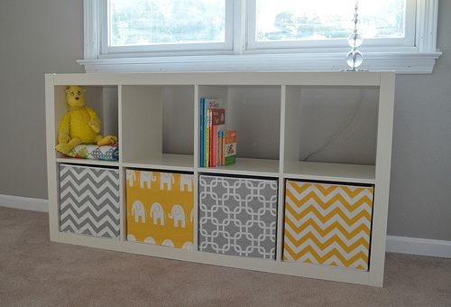 Fabric Covered Storage Bins These Would Be Wonderful Made In Cuddle