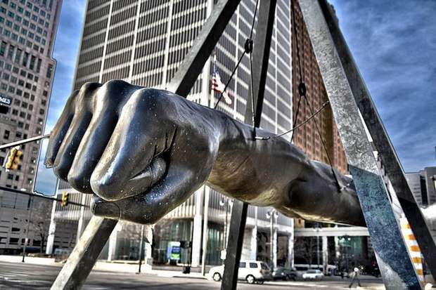 Fist Joe Louis