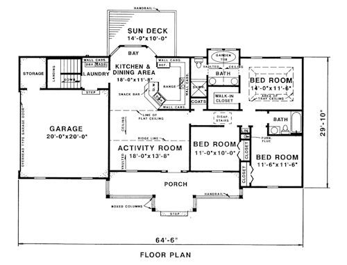 W D  Farmer Plans 1300 sqft possible spec house Home Decor