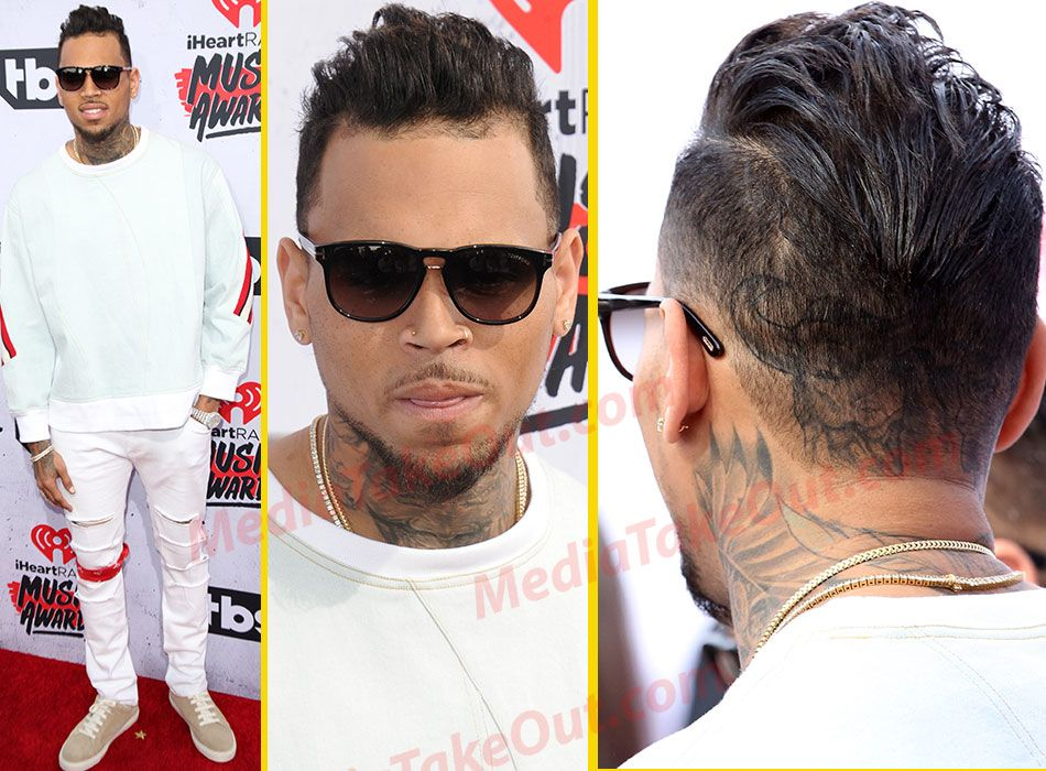 chris brown new hair style chris brown new hairstyle hair 1195